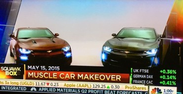 CNBC Just Leaked Photos of the New 2016 Chevy Camaro