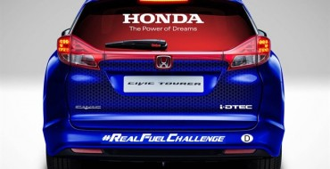 Honda Chasing Fuel Efficiency World Record with 8,000 Mile Trek Across Europe