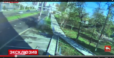 Russian Soccer Player Crashes Nissan GT-R into Pole at 105 mph, Survives