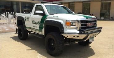 Dubai PD Adds 2015 Sierra to Already-Ridiculous Fleet