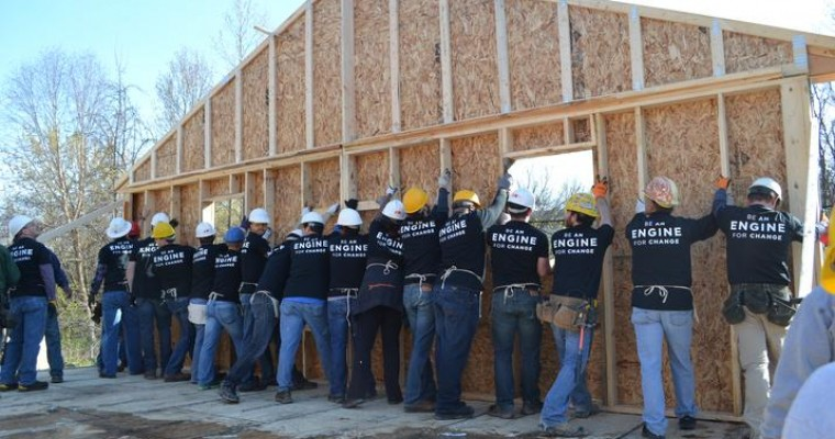 FCA Partners with Habitat for Humanity Detroit