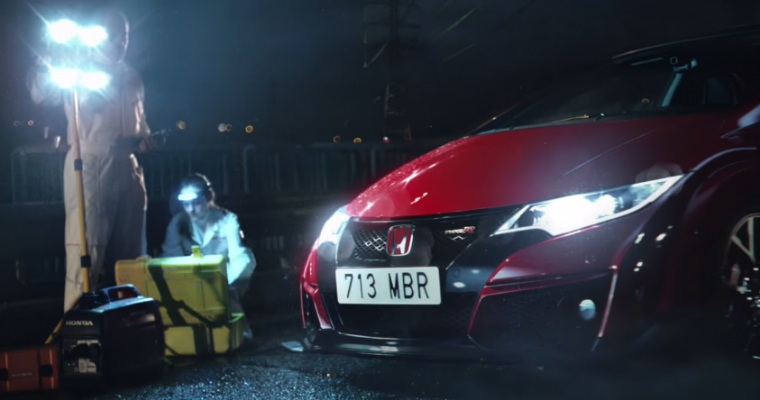 Honda Civic Type R Gets Hooked on a Feeling in New Ad