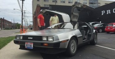 DeLorean DMC-12s to Return, Possibly With Big GM Muscle Under Hood
