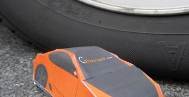 Make Your Own Hyundai Genesis Coupe Papercraft Car!