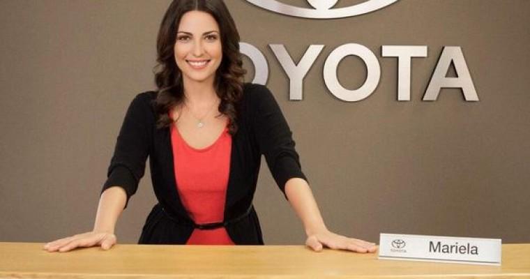 Mariela Is the Latina Toyota Jan