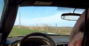 [VIDEO] Man Passes Out at Wheel, Drives Mustang into Field