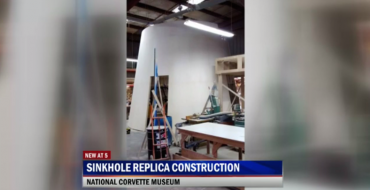 "Yup, the National Corvette Museum is Building a ""Sensorama"" Sinkhole Recreation"