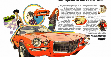 Check Out These Vintage Chevy Camaro Print Ads