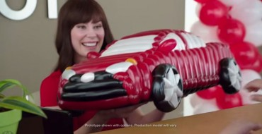 Toyota Jan Blows Balloons, Talks to Drones in New Commercials