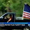 South Carolina School Tells Teen to Stop Flying Flags