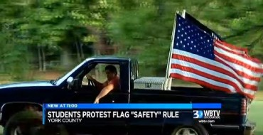 South Carolina School Tells Teen to Stop Flying Flags