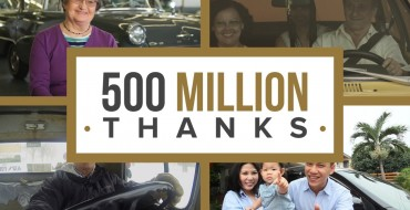 GM Thanks Customers for 500 Million Vehicles Made
