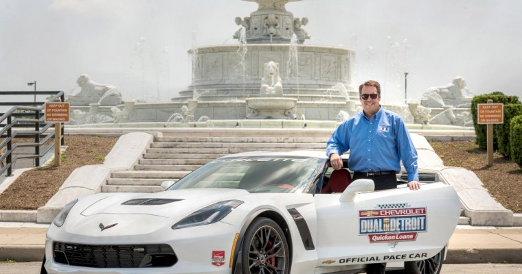 Chevy VP Mark Reuss to Drive Corvette Z06 Pace Car at Chevrolet Dual in Detroit