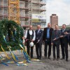 Opel and GM Officials Attend Topping-Out Ceremony in Rüsselsheim