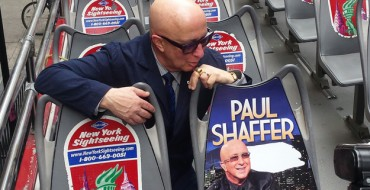 <em>Late Show</em>'s Paul Shaffer Honored with New York Sightseeing Bus