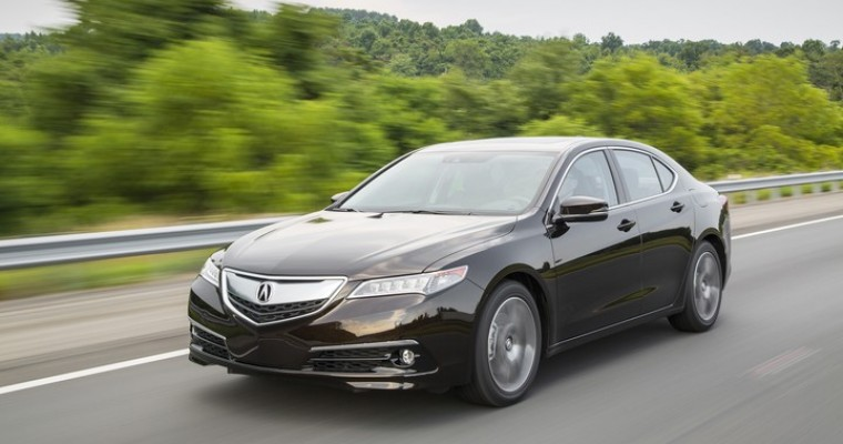2015 Acura TLX Overview