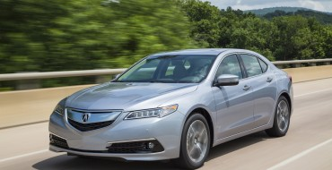 TLX, ILX Fuel Acura May Sales Increases