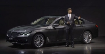BMW Unveils 2016 7 Series Design & Details Online Following Leaks