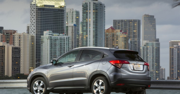 <em>Green Car Journal</em> Names Honda HR-V a Finalist for 2016 Green SUV of the Year