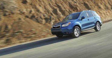 2016 Subaru Forester, Outback, and Crosstrek Lead Brand to Successful April