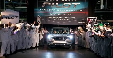 2016 Honda Pilot Begins Production, Goes on Sale Next Month
