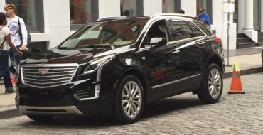 This Sure Looks Like the 2016 Cadillac XT5 in SoHo