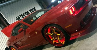 NBA Player Dwight Howard Gives his 2015 Dodge SRT Hellcat a custom 'Flash' Makeover