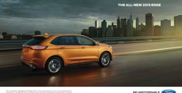 "Ford Kicks Off ""Be Unstoppable"" Campaign for 2015 Edge"