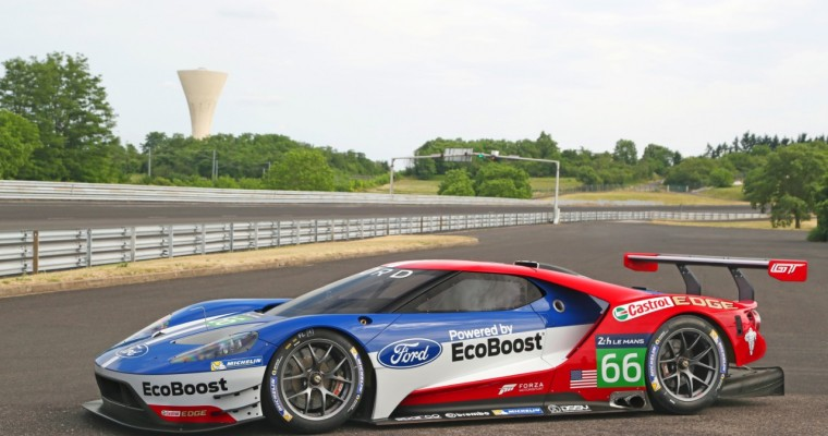 Ford GT Race Car to Debut at Rolex 24; Euro Debut at Silverstone