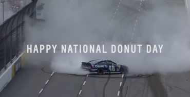 Chevy Celebrates National Doughnut Day with NASCAR Donut Compilation