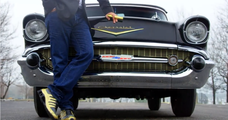 Steve Harvey and Jerry Seinfeld Drive a 1957 Chevy Bel Air