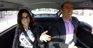Jerry Seinfeld and Julia Louis-Dreyfus Drive James Bond's Aston Martin DB5