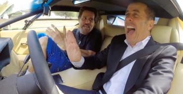 Jim Carrey and Jerry Seinfeld Drive a 1976 Lamborghini Countach