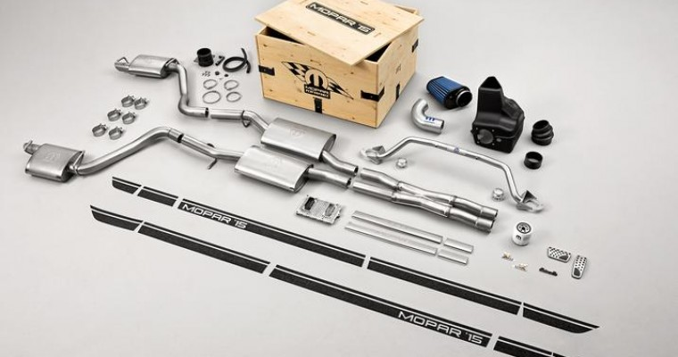 Mopar '15 Performance Kits Available for 2015 Dodge Charger R/T