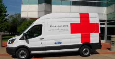 Ford Donates Five Transit Connect Vans to American Red Cross