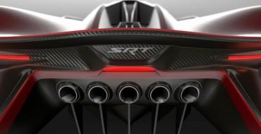 FCA Teases SRT Tomahawk Vision Gran Turismo Concept