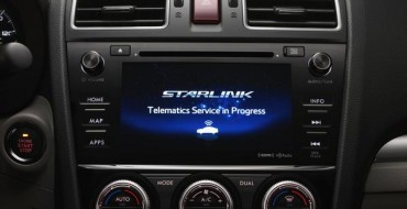 New SUBARU STARLINK System Is a Standout in 2016 Lineup