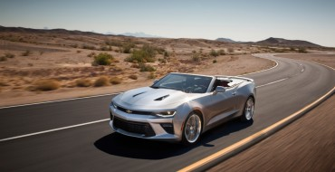 Sixth-Gen Chevy Camaro Convertible Arrives in Middle East