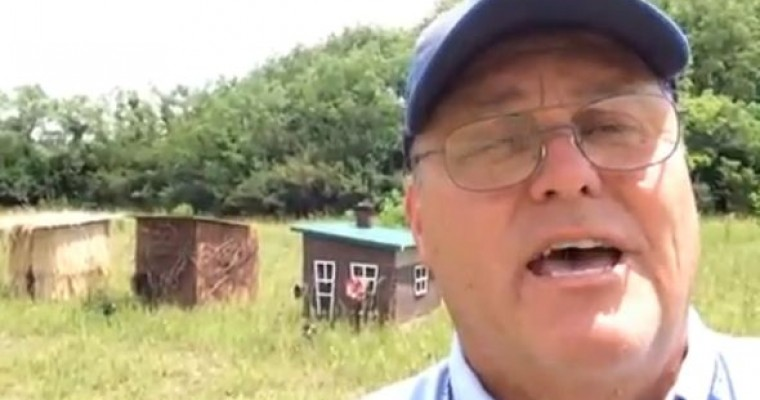 Three Little Pigs Houses Appear Where Pig-Carrying Semi Crashed in Xenia