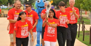 Toyota Team Members Carry Special Olympics Flame of Hope in San Antonio