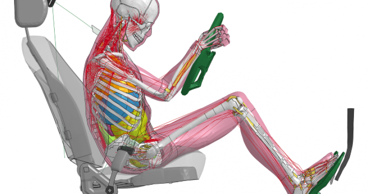 New Toyota Crash Test Dummy Models Posture Before Collisions