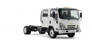 Chevy Reveals Pricing for Low Cab Forward Medium-Duty Truck