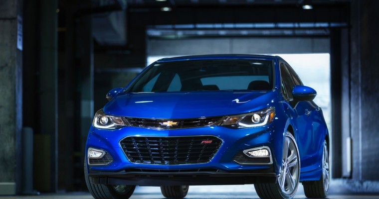 2016 Chevy Cruze Debuts in Detroit