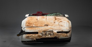 GM Restoring One Millionth Corvette Damaged in NCM Sinkhole