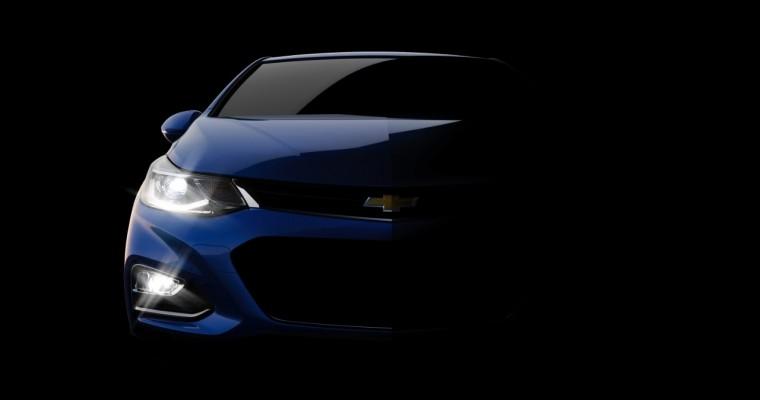 Chevrolet Teases Next-Generation 2016 Chevy Cruze