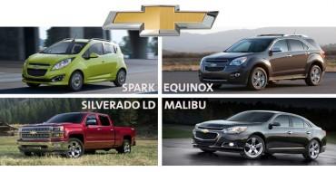 Four Chevys Top J.D. Power Initial Quality Study