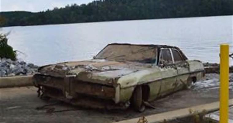 North Carolina Man And His 1968 Pontiac Catalina Found In Lake After 43 Years