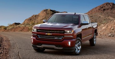2016 Chevy Silverado Named Best New Pickup by AJAC