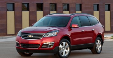 US News Names 2016 Chevy Traverse Best Used Midsize SUV for Teens