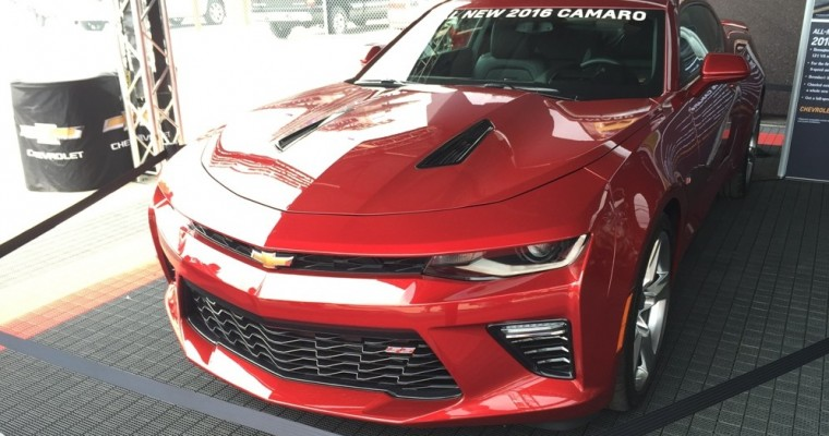 2016 Chevy Camaro, Volt Gearing Up for Woodward Dream Cruise